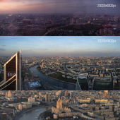 View of Moscow from Federation Tower