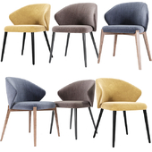 Ellen Dining Chair Astele Set 02