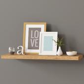 Decor shelf