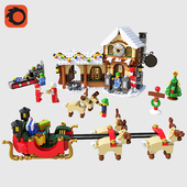 LEGO Santas Workshop