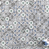Wall tiles 227 Multicolor Set 1