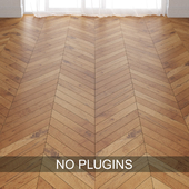 Old Pale Oak Wood Parquet Floor Tiles vol.014 in 3 types