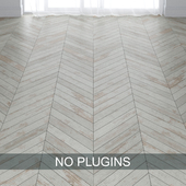 Old Wood Painted Parquet Floor Tiles vol.002 in 3 types