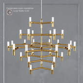 Chandelier EQUINOX CHANDELIER Large Gold