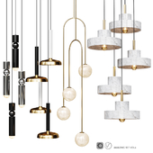 Four Pendant Lights amazing set vol6