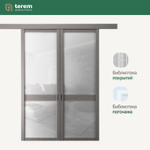 """Фабрика межкомнатных дверей """"Терем"""": модель CorsaQ2 (межкомнатные перегородки)"""