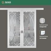"""Фабрика межкомнатных дверей """"Терем"""": модель GraziaArc1 (межкомнатные перегородки)"""
