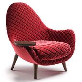 Poliform mad king armchair
