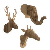 Cardboard Animals Sculpture