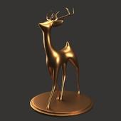 Gazelle sculpture