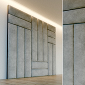 Декоративная стена. Мягкая панель. 75