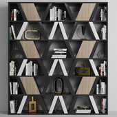 Shelving with decor