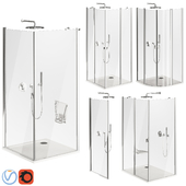 Ravak Chrome Shower Cabin