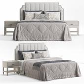Princeton Step Rectangular Upholstered Bed