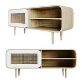 Wood TV Stand - Gerald Ge005m33