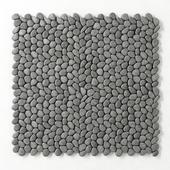 Декор из серой гальки /Decor gray pebble