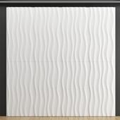 Plaster 3D panel Wave