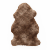 Soft Plush Faux Sheepskin Rug