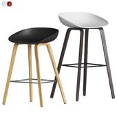 Hay Aas 32 Bar Stool. Counter stool