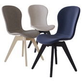 adelaide chair with wood base