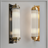 Wall lamp Corrugated Glass