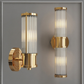Ralph Lauren Sconce Allen Single Sconce Brass