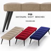 Gamma P09 Sayonara night bench