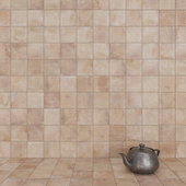 ZYX by Colorker AMAZONIA COTTO tile set