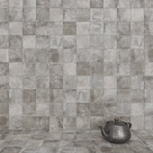 ZYX by Colorker AMAZONIA GRAY tile set