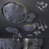 Ceiling decor - Water Lily