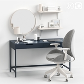 Women's dessing table and workplace.