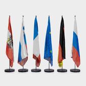 Floor flags