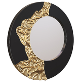Mirror Mercury Mirror Black Gold by Phillips Collection