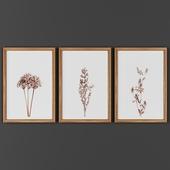 Picture frame set 00022-12