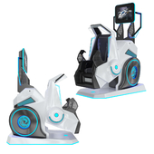 360 VR Roller Coaster Virtual Reality Simulator