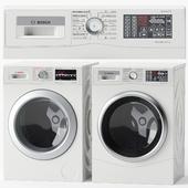 Набор стирально-сушильных машин BOSCH