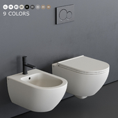 Ceramica Cielo Enjoy Wall-Hung WC