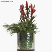 Branches in vase # 9