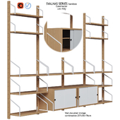 Storage System and Designer Svalnas Ikea vol. 9