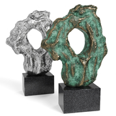 CLIVE BARKER  Large Scholar Rock 2016 Copper Iron