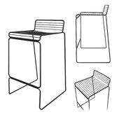 Hee bar stool