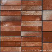 Yurtbay Seramik Brick Stone Cotto Mix Set 2