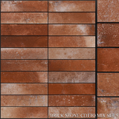 Yurtbay Seramik Brick Stone Cotto Mix Set 5