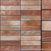 Yurtbay Seramik Brick Stone Cotto Mix Set 10