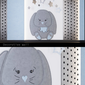 Wall panels for children _ bunny (2)
