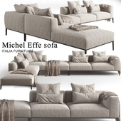 Michel Effe corner Sofa_B & B furniture 01