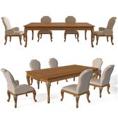 Table and Chair Veneta Sedie