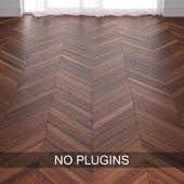 Brown Plum Wood Parquet Floor Tiles vol.002 in 3 types