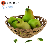 Basket of pear
