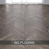 Grey Oak Wood Parquet Floor Tiles vol.015 in 3 types